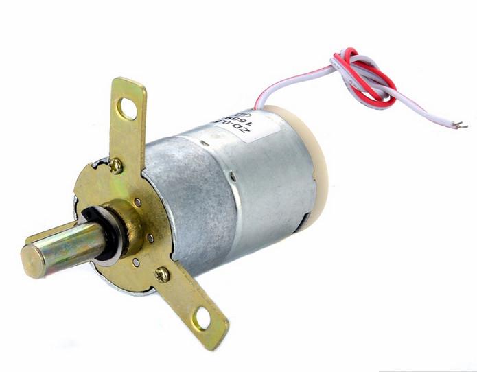 Эл. двигатель 12V (24 об/мин)