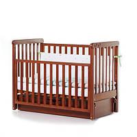 Детская кроватка Верес соня ЛД12 маятник продольный ольха