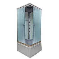 Гидромассажная бокс кабинка Atlantis S-90 (XL) 90х90х215см, фото 1