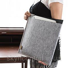 Органайзер для офісу Multifunctional Felt Desk Mat , Laptop Key Board Mouse Pad for Home and Office,Brown
