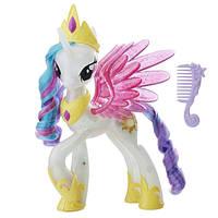 My Little Pony Принцесса Селестия сверкающая и светящаяся the Movie Glitter Glow Princess Celestia, фото 1