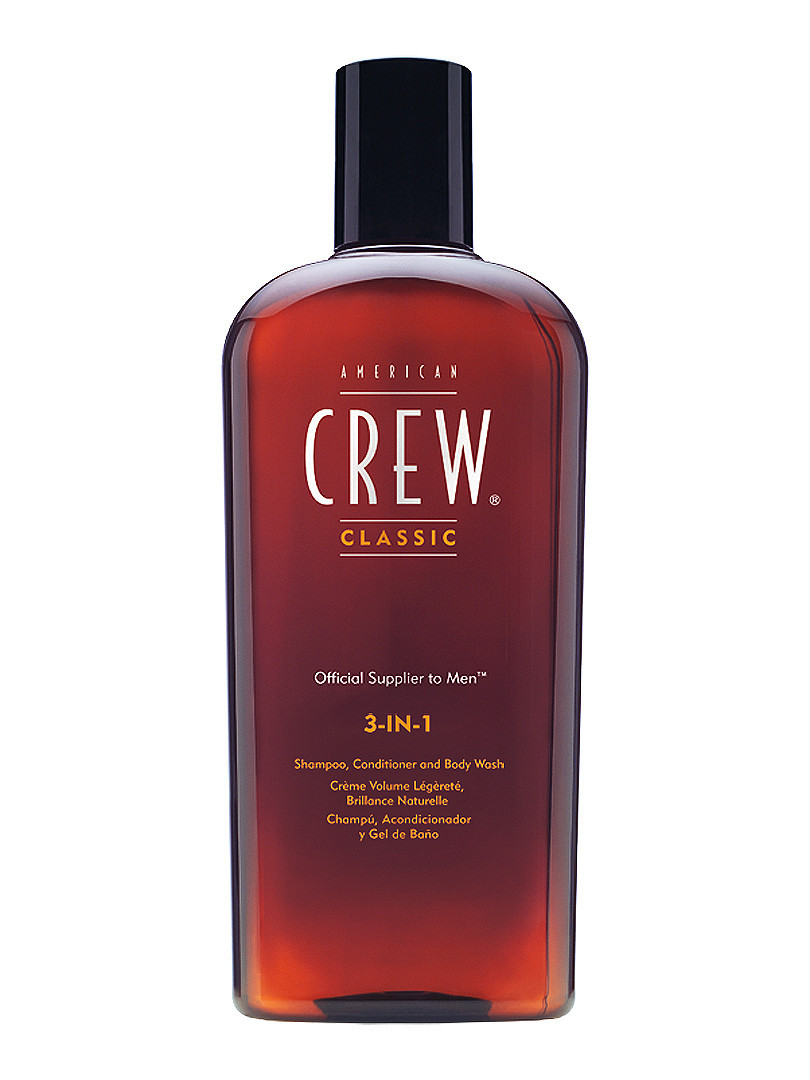 Средство по уходу за волосами и телом 3 в 1 American Crew Shampoo + Сonditioner and body wash - 450 мл