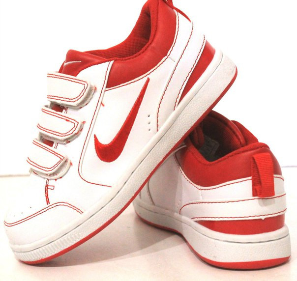 Кроссовки белые в стиле NIKE 31-35
