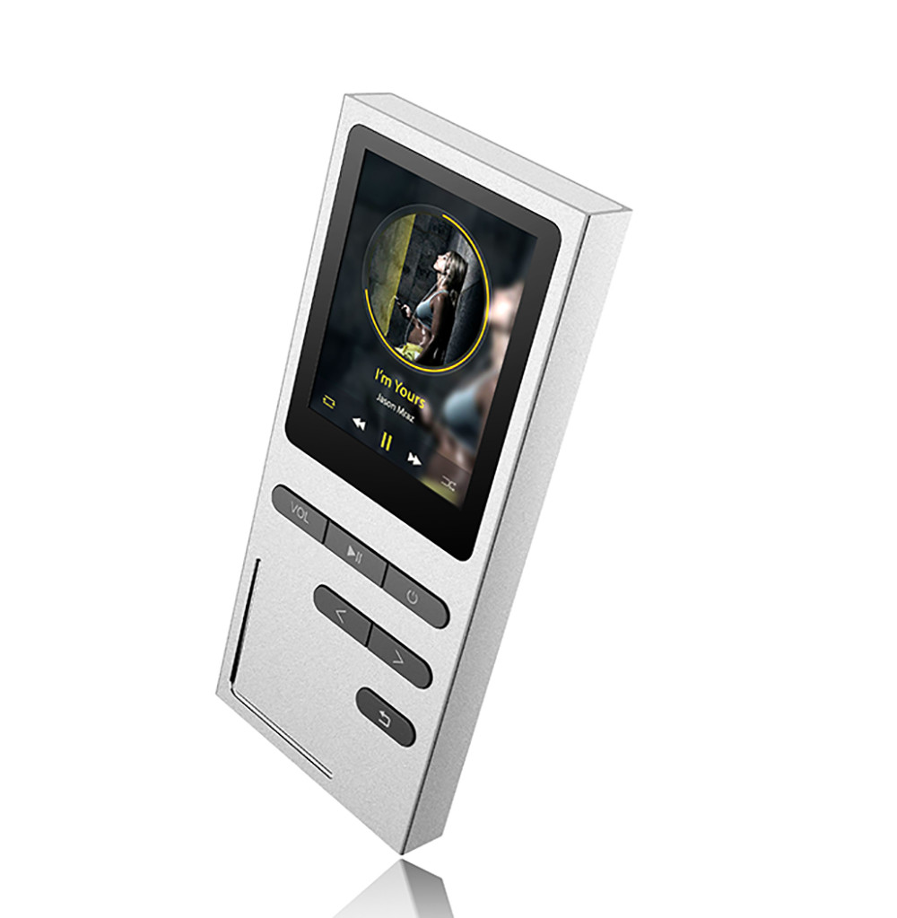 MP3 Плеер Auphil M9 Hi-Fi 8Gb Серебро