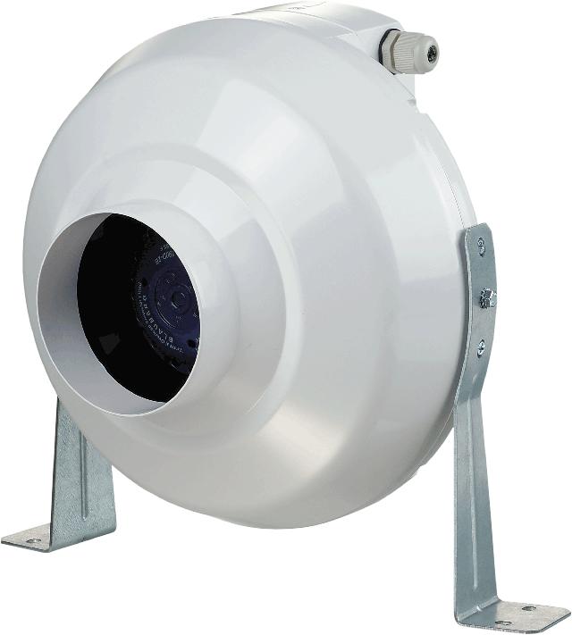 Внешний вид круглого канального центробежного вентилятора ВЕНТС ВК 100
