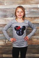 Кофта для девочек на рост 92-134 см