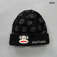 Вязаная шапка для мальчика. 46-53 см, фото 1