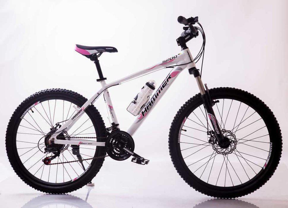 MTB Горный Велосипед HAMMER-26 White-Pink