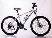 MTB Горный Велосипед HAMMER-26 White-Pink Япония Shimano.