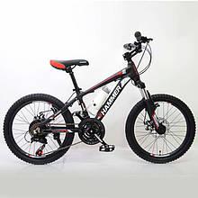 Велосипед HAMMER-20 Black-Red Япония Shimano.