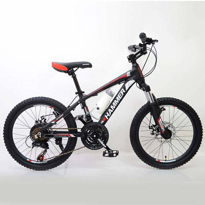 Велосипед HAMMER-20 Black-Red