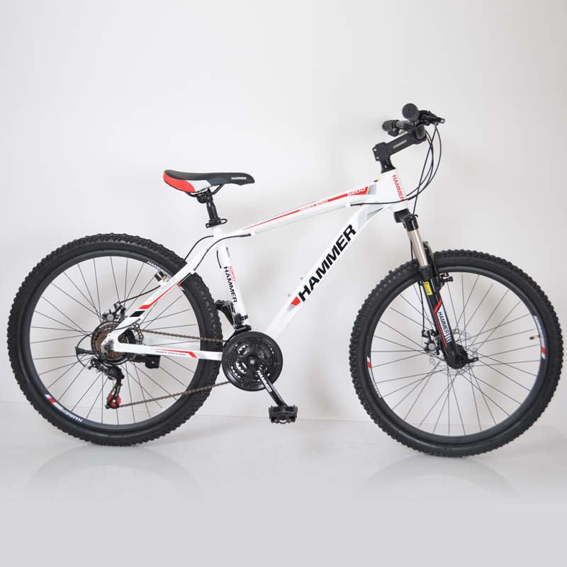 Гірський Велосипед HAMMER-26 White-Red Японія, Shimano.