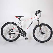 Горный  Велосипед HAMMER-26 White-Red Япония Shimano.