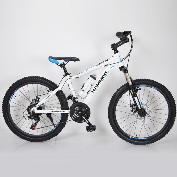 Велосипед HAMMER-24 White Pink