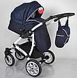 Детская коляска 2 в 1 AVALON Blue, фото 4
