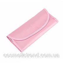 Набор профессиональных кистей для макияжа (7 предметов+чехол) Makeup Tool Brush Set pink (розовый), фото 3
