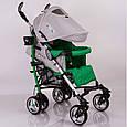 Детская прогулочная коляска трость DolcheMio-SH638APB Green, фото 2
