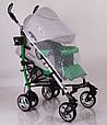 Детская прогулочная коляска трость DolcheMio-SH638APB Green, фото 3