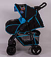 Детская коляска Sigma S-K-6F Black, фото 5