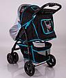 Детская коляска Sigma S-K-6F Black, фото 7