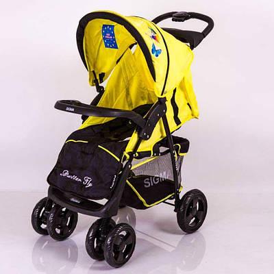 Детская коляска Sigma S-K-6F Yellow