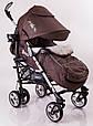 Детская прогулочная коляска трость  DolcheMio-SH638APB Brown, фото 3