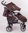 Детская коляска DolcheMio-SH638APB Brown, фото 3