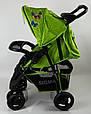 Дитяча коляска Sigma S-K-6F Green, фото 3