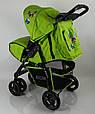 Дитяча коляска Sigma S-K-6F Green, фото 5