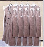 Чехлы полиэтиленовые для одежды 65Х80,15микрон-25микрон(Возможны с,Вашим,логотипом)