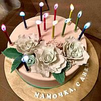 Свечи с цветным пламенем  (12 шт), свечи для торта, фото 1