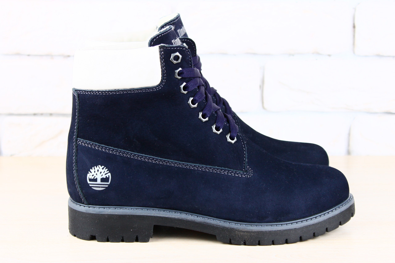 8cfbc671 Ботинки синие натуральный нубук, демисезонные: продажа, цена в ...
