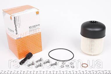 Фильтр топливный Renault Kangoo, Рено Кенго , Dokker, Duster, Logan 1.5dci 10- KX 338/26D