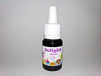 Гелевый пищевой краситель Фиолетовый  10ml Delight