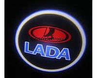 Дверной логотип LED LOGO 245 LADA, светодиодный логотип
