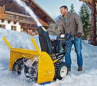 Снегоуборочные машины для частного дома или дачи