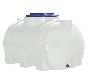 Бесплатная доставка. Бак, бочка, емкость 250 литров пищевая горизонтальная 300 200 RGО, фото 2