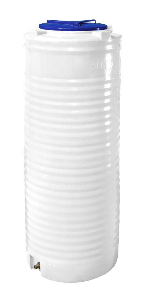 Бесплатная доставка. Вертикальная узкая емкость 300 литров бочка пищевая, бак RVО У