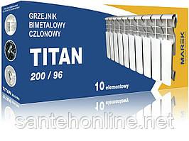 Радиатор секционный биметалический Титан