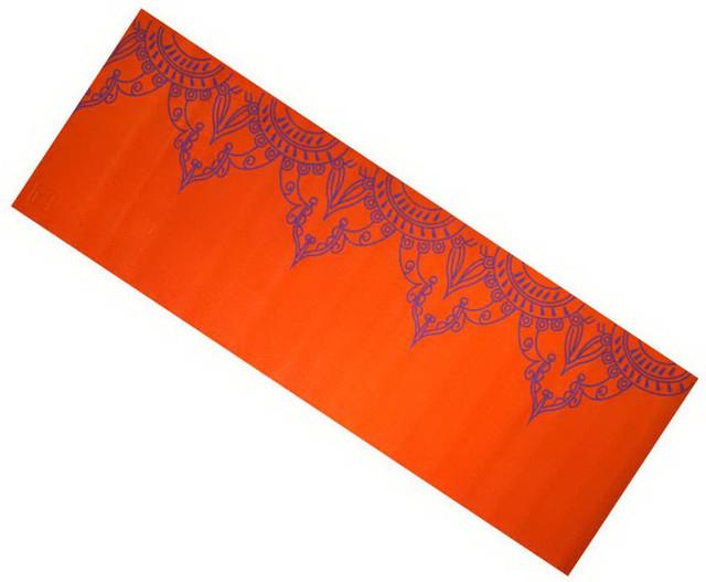 Коврик для йоги «LS3231c-06o» (PVC) YOGA MAT WITH PRINT 1730x610x6 мм