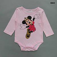 Боди Minnie Mouse для девочки. 90, 95 см