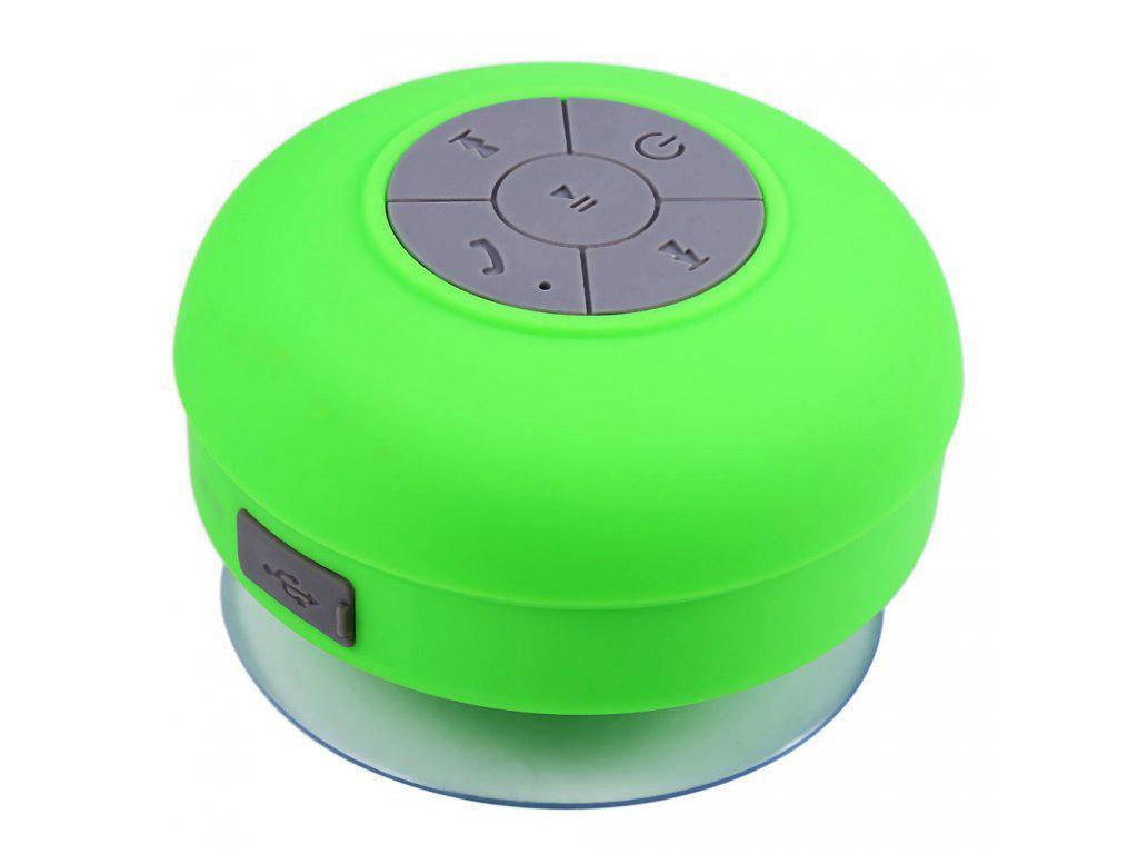 Мобильная Колонка SPS X1 Green waterproof портативная колонка водонепроницаемая с присоской и блютузом