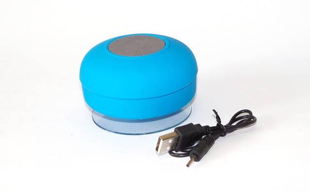 Мобильная Колонка SPS X1 Blue waterproof портативная колонка водонепроницаемая с присоской и блютузом