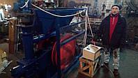 Пресс для брикетирования отходов деревообрабатывающей промышленности
