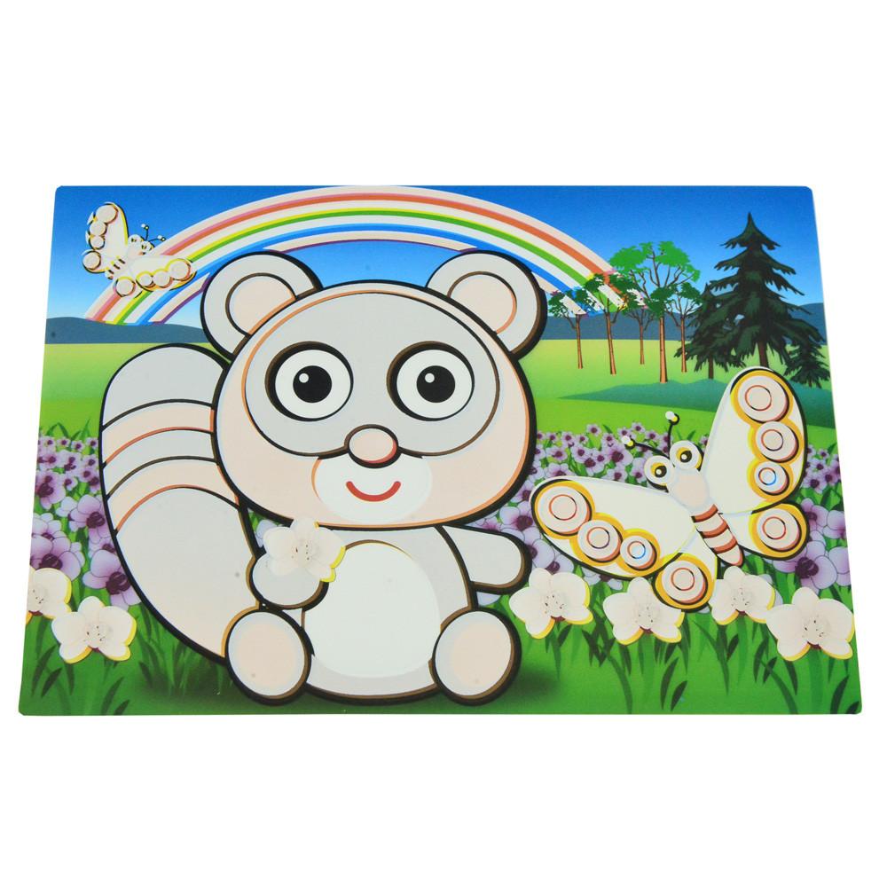 Детский сервировочный коврик для рисования водой Fissman ЕНОТ (Пластик)