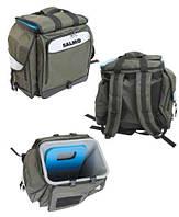 Ящик-рюкзак рыболовный зимний SALMO 2061