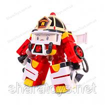 Трансформер робокар пожарная машина Рой в костюме космонавта