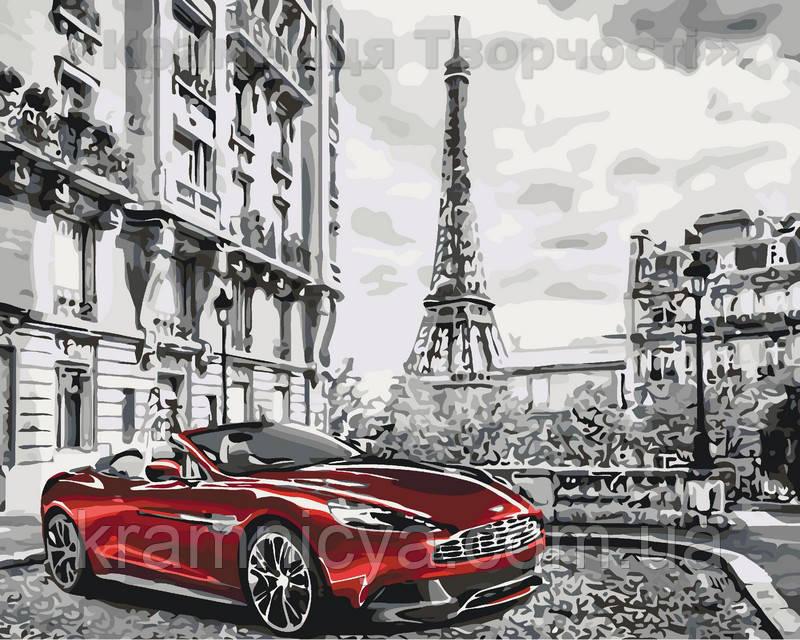 Живопись по номерам Утро в Париже, 40х50см. (КНО3514)