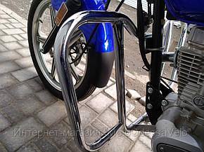 Универсальная защитная дуга для мотоцикла 125-150, фото 2