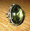 """Игривое колечко с зеленым аметистом """"Неженка"""", размер 19,5 от Студии  www.LadyStyle.Biz"""